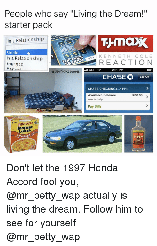 Honda Memes And Petty People Who Say Living The Dream