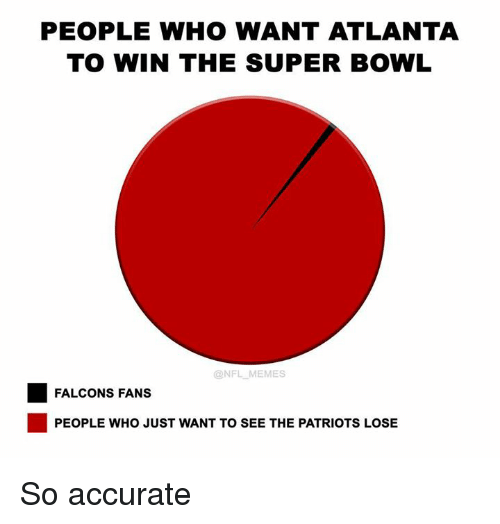 people who want atlanta to win the super bowl nfl 13016648 people who want atlanta to win the super bowl memes falcons fans