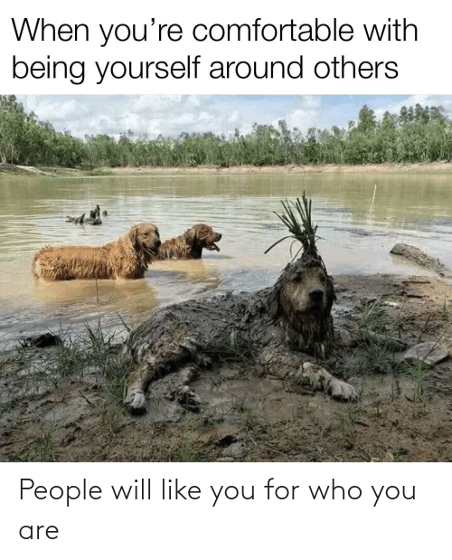 Who, Will, and You: People will like you for who you are
