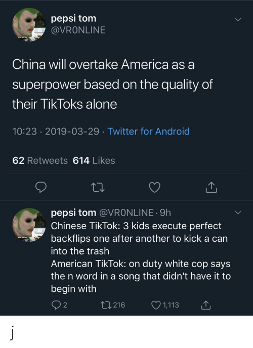 Pepsi Torm China Will Overtake America as a Superpower Based