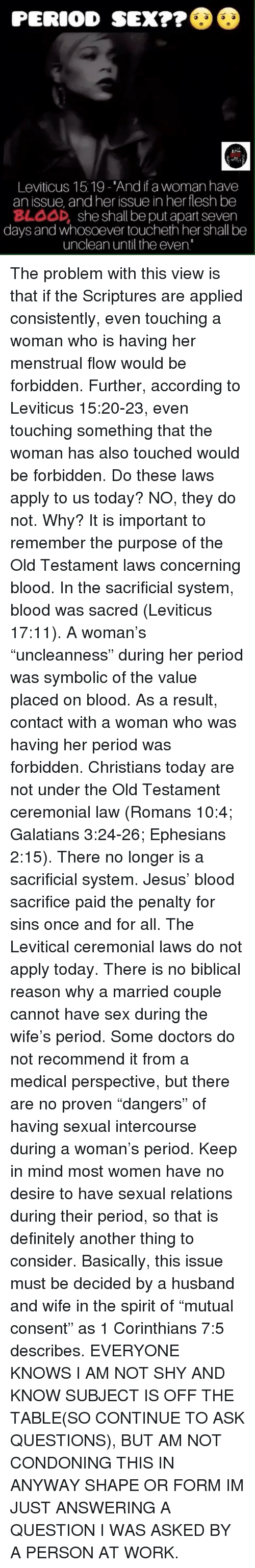 No sex before marriage in the bible