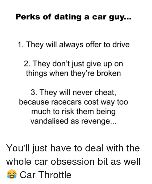 Dating a guy with a car