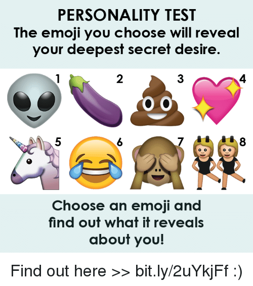 PERSONALITY TEST the Emoji You Choose Will Reveal Your