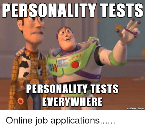PERSONALITY TESTS PERSONALITY TESTS OEVERYWHERE Made on