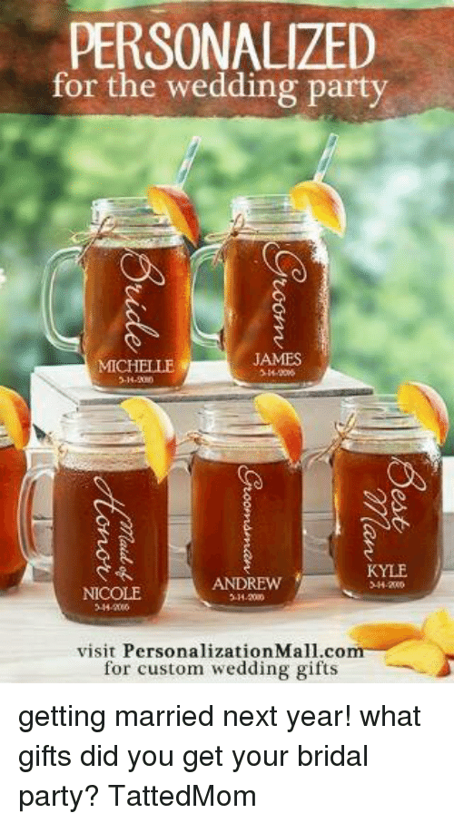 Personalized For The Wedding Party James Michelle Kyle Andrew Visit