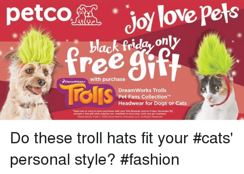 Petco Pets Joy Love Pets Black Friday Only With Purchase