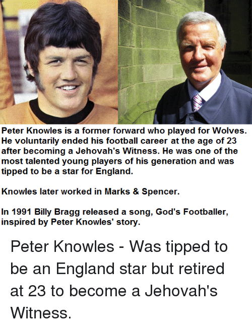 Peter Knowles Is a Former Forward Who Played for Wolves He