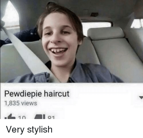 Haircut, Stylish, and Pewdiepie: Pewdiepie haircut  1,835 views  10