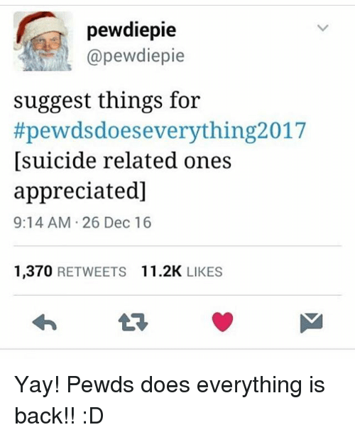 Pewds Does Everything