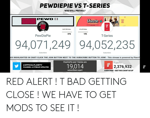 PEWDIEPIE VS T-Series WHO WILL PREVAIL? Aaste VIDEO LIVE NoW