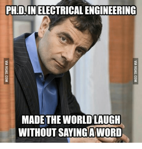phidinelectrical engineering made the world laugh without saying aword 13998380 ✅ 25 best memes about electrical engineering meme electrical