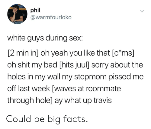 Phil White Guys During Sex 2 Min in Oh Yeah You Like That C*ms Oh