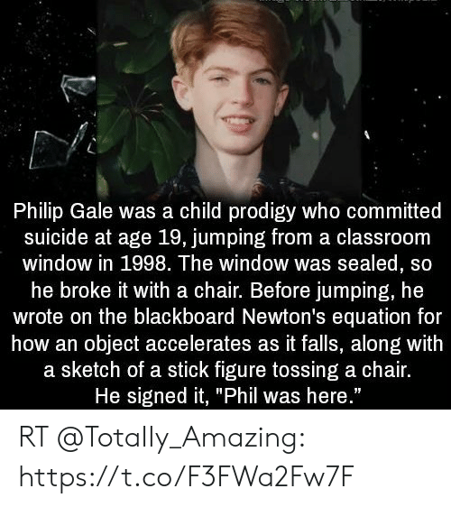 Philip Gale Was a Child Prodigy Who Committed Suicide at Age