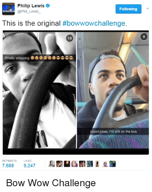 Bow Wow Challenge