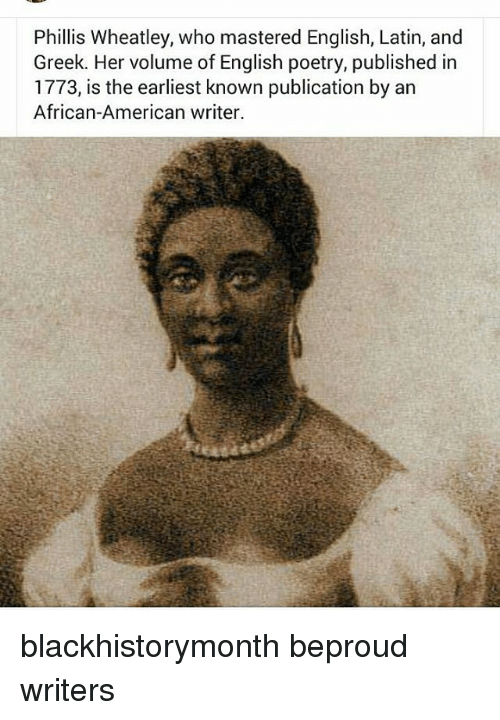 phillis wheatley and her writing techniques Start studying english: revolutionary writing learn vocabulary,  what are the 3 persuasive techniques 1 logical appeal 2  what did phillis wheatley write.