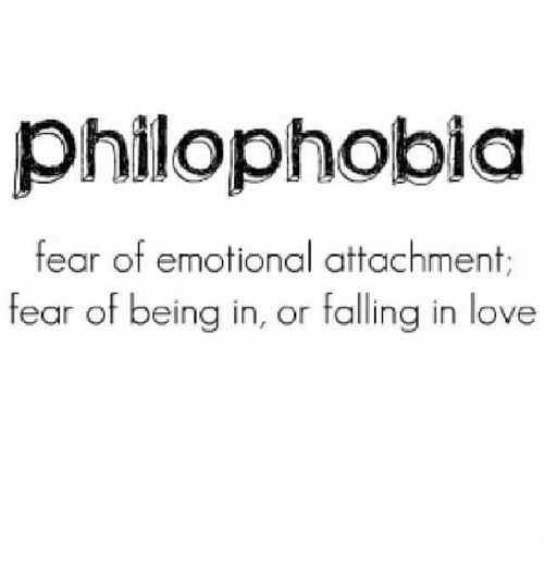 Philophobia Definition
