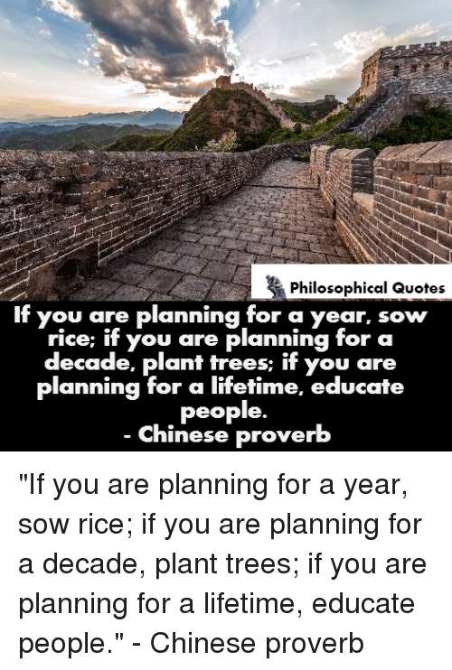 philosophical quotes if you are planning for a year sow 23241432 philosophical quotes if you are planning for a year sow rice if
