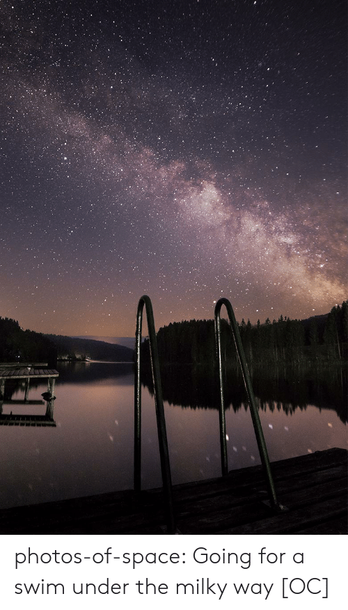 Tumblr, Blog, and Space: photos-of-space:  Going for a swim under the milky way [OC]
