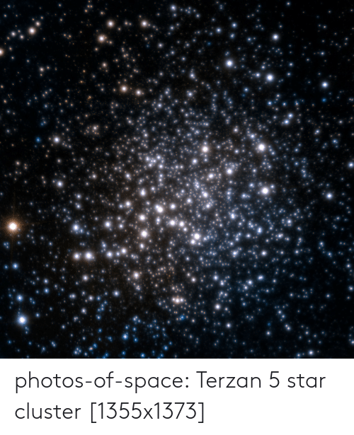 Tumblr, Blog, and Space: photos-of-space:  Terzan 5 star cluster [1355x1373]
