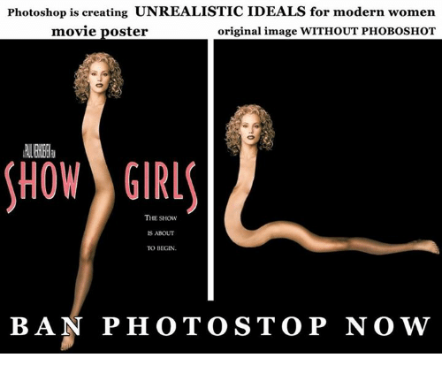 Photoshop Is Creating UNREALISTICIDEALS for Modern Women