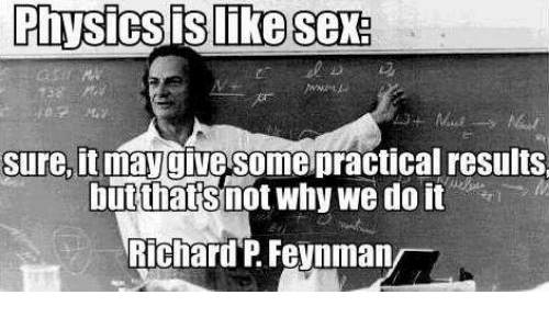 Physics and sex