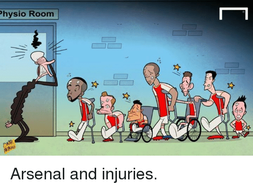 Physio Room Arsenal And Injuries