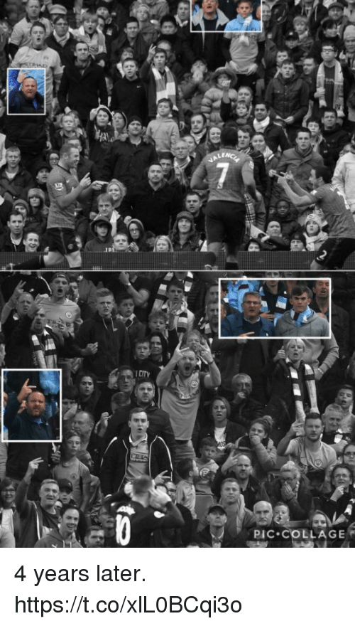 Soccer, Collage, and Pic: PIC. COLLAGE 4 years later. https://t.co/xlL0BCqi3o
