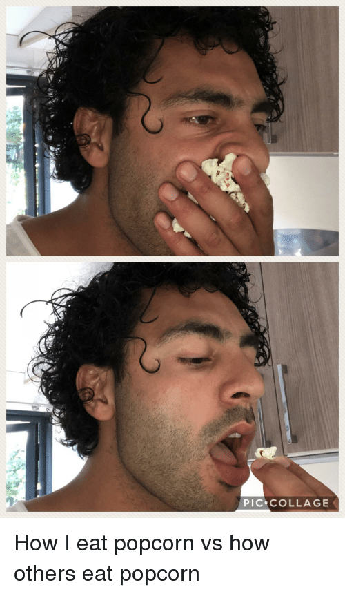 Funny, Collage, and Popcorn: PIC COLLAGE