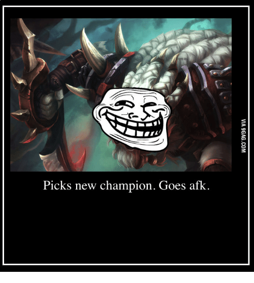 Picks New Champion Goe Afk | Champions Meme on ME ME