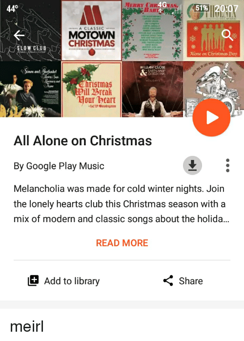 All Alone On Christmas