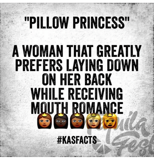 What is a pillow princess?