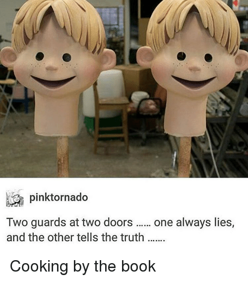 one guard tells the truth the other lies