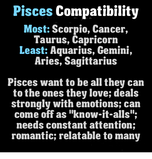 Is an aquarius compatible with a pisces