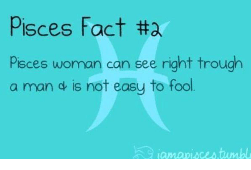 facts about pisces man