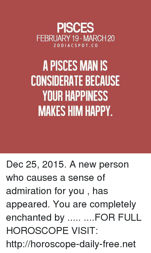 horoscope pisces man