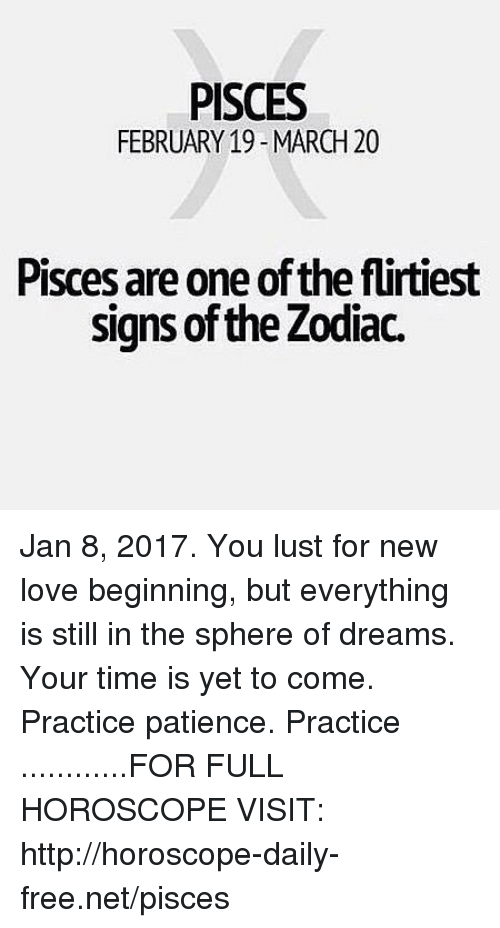 horoscope january 8 pisces or pisces