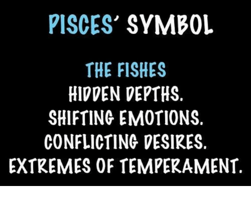 Pisces Symbol The Fishes Hidden Depths Shifting Emotions Conflicting