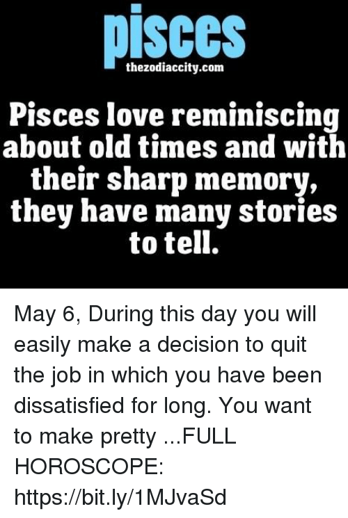 Pisces Thezodiaccitycom Pisces Love Reminiscing About Old Times and