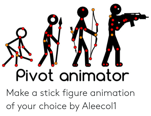 how to do stick figure animation