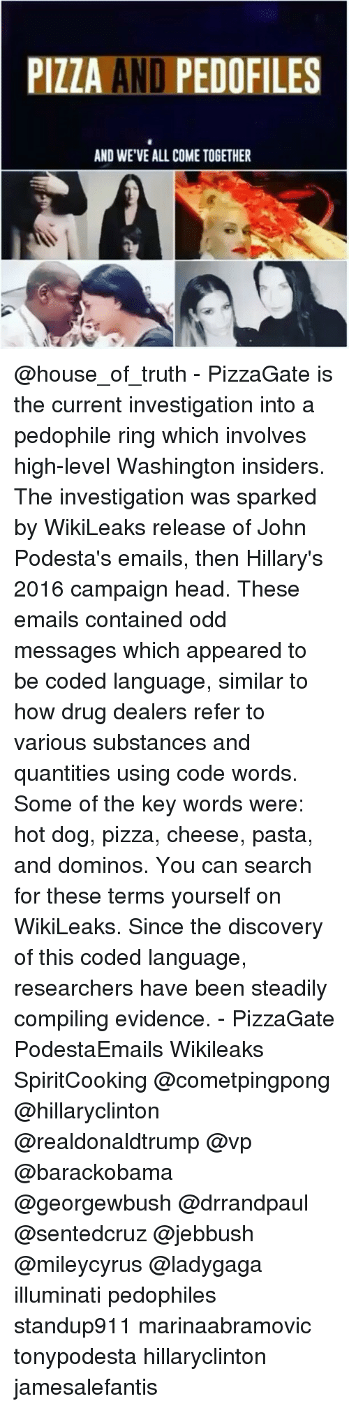 All The Cheese Pizza Pasta Hot Dog Wikileaks Enails