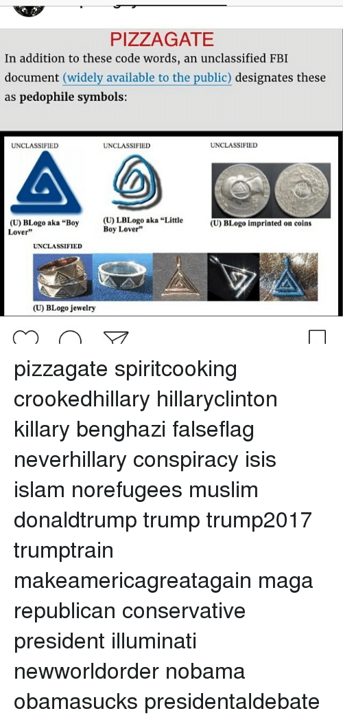 Pizza Gate In Addition To These Code Words An Unclassified Fbi