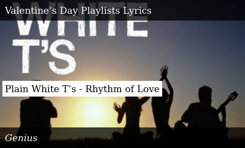 rhythm of love plain white ts mp3
