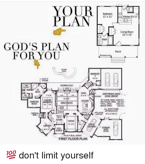 Plan gods plan for you first floor plan 11x11 kitchen 8x11 living memes limited and plan gods plan for you first floor plan 11 solutioingenieria Gallery
