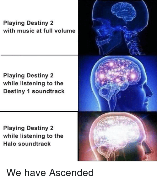 Playing Destiny 2 With Music at Full Volume Playing Destiny 2 While