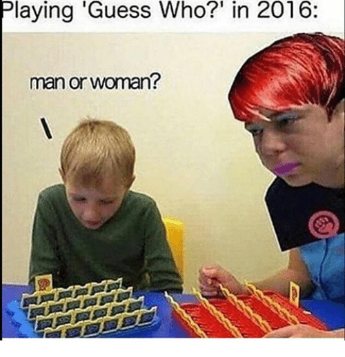Memes Guess And Guess Who Playing Guess Who In 2016