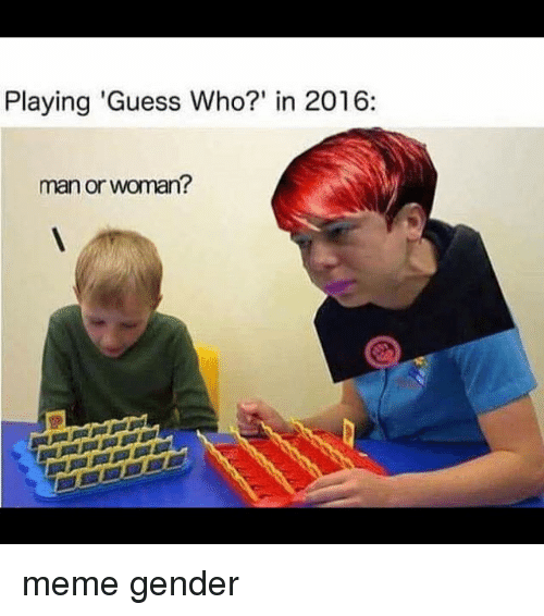 Memes Guess Who And  F0 9f A4 96 Playing Guess Who In 2016