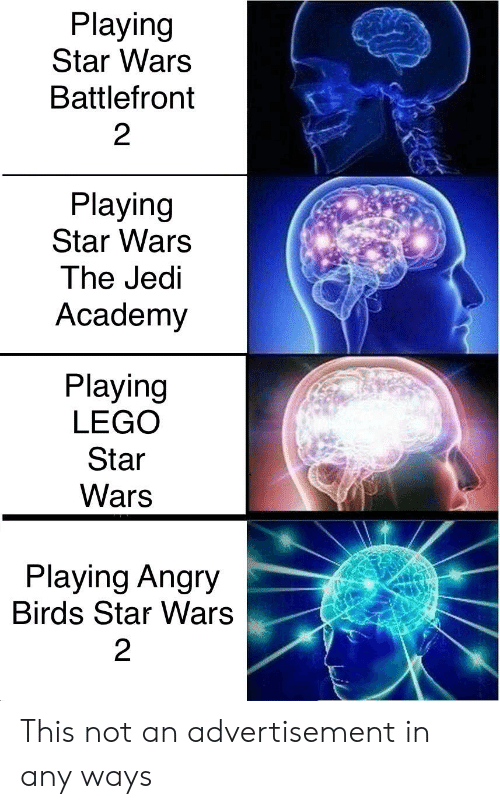 Angry Birds, Jedi, and Lego: Playing  Star Wars  Battlefront  2  Playing  Star Warss  The Jedi  Academy  Playing  LEGO  Star  Wars  Playing Angry  Birds Star Wars  2 This not an advertisement in any ways
