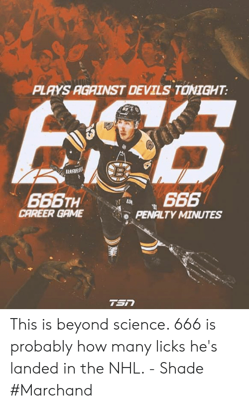 Plays Against Devils Tonight Iuarr Career Game Penalty Minutes This