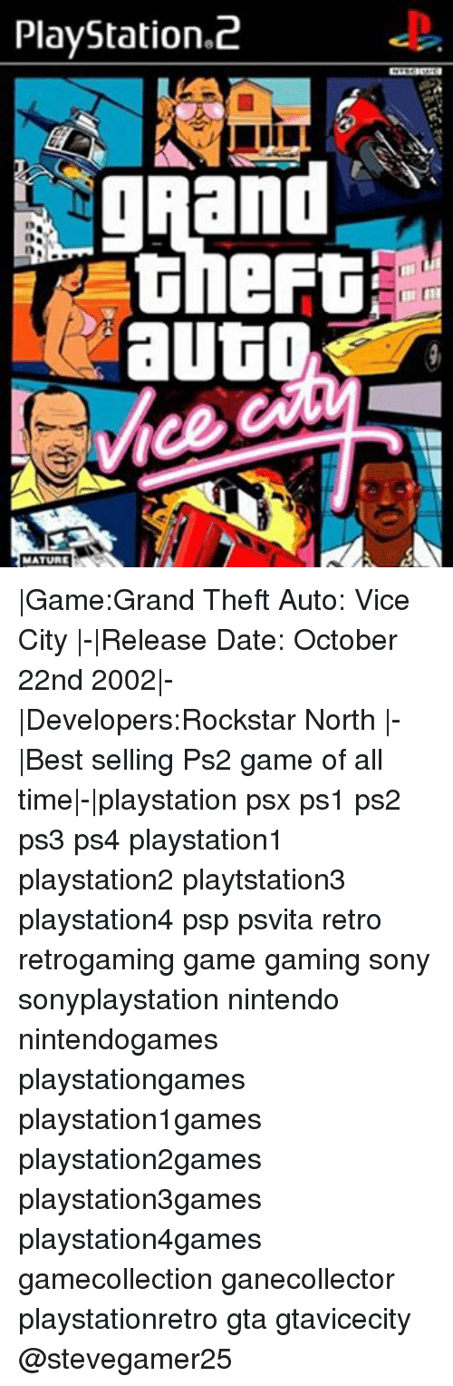 PlayStation C gRand Auto MATURE |GameGrand Theft Auto Vice