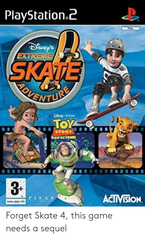 PlayStationz 3 PIXA Forget Skate 4 This Game Needs a Sequel